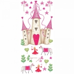 Decorative sticker - Princess Castle - Mural