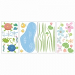 Decorative sticker - Hoppy Pond