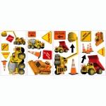 Decorative sticker - Construction